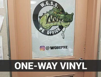 One-Way Vinyl